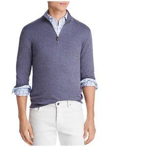 BLOOMINGDALE'S Quarter 1/4 Zip Sweater Men's Store